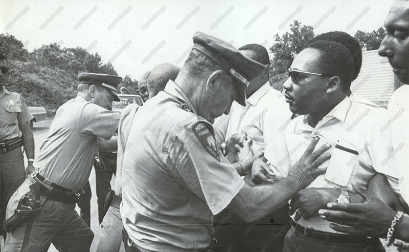 1963 - Martin Luther King Being Arrested in Birmingham
