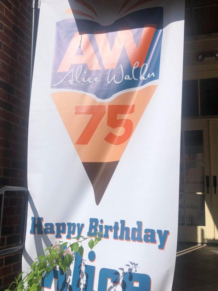 Author Alice Walker Celebrates her 75th Birthday